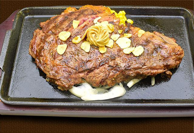 本格熟成国産牛リブロースステーキ