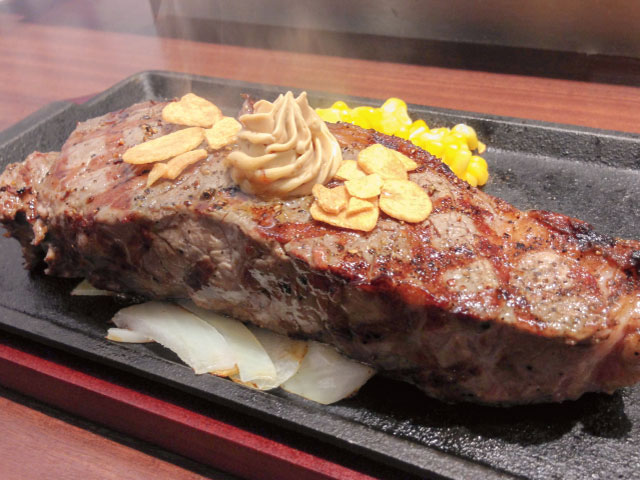 Naruoブランド牛サーロインステーキ